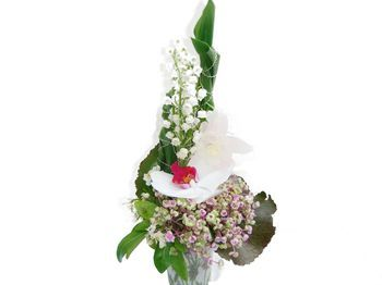 Composition florale Muguet